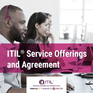 ITIL service offering and agreements