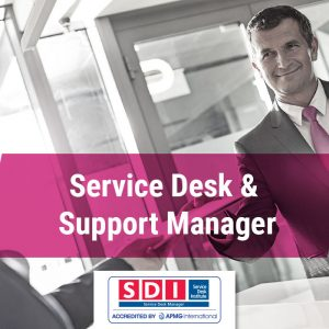 Service desk and support manager