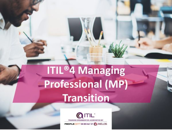 ITIL 4 Managing Professional (MP) Transition